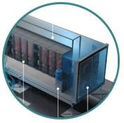 Data Center en Contenedor de 10, 20 y 40 pies